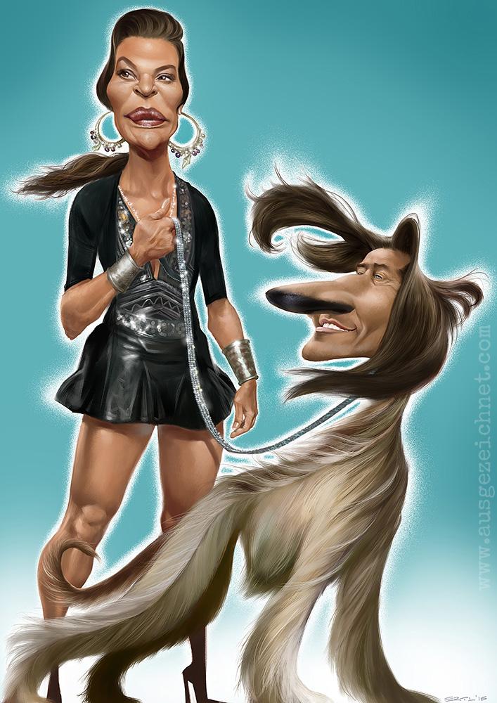 Karlheinz Grasser Karikatur Windhund