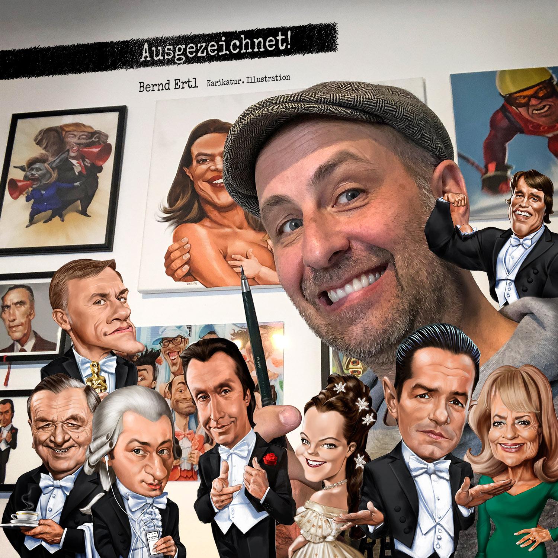 Bernd Ertl Karikatur Illustration Cover