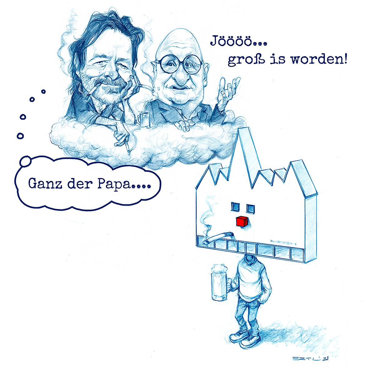20Jahre Karikaturmuseum Krems Bernd Ertl